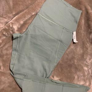 Olive workout leggings